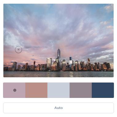 Coolors Photo Color Palette