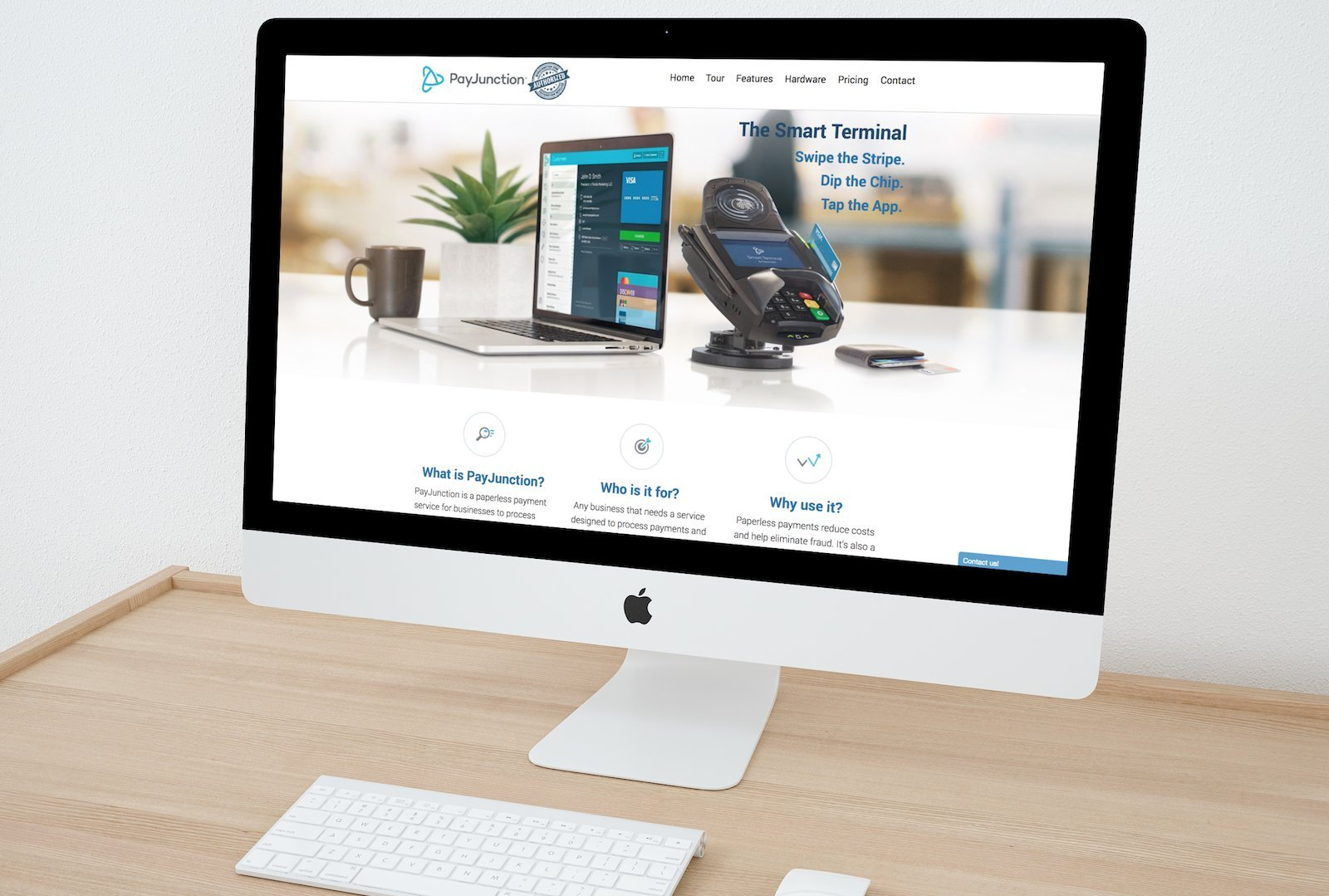 MyPayJunction Website (Financial Services)