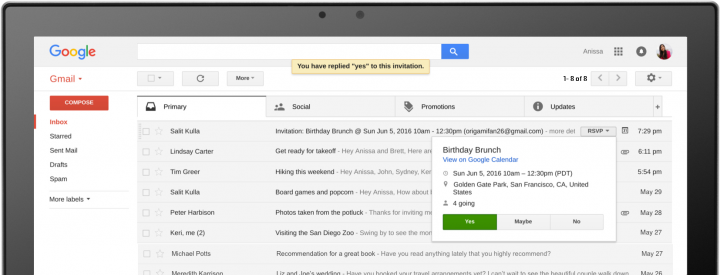 google apps - gmail