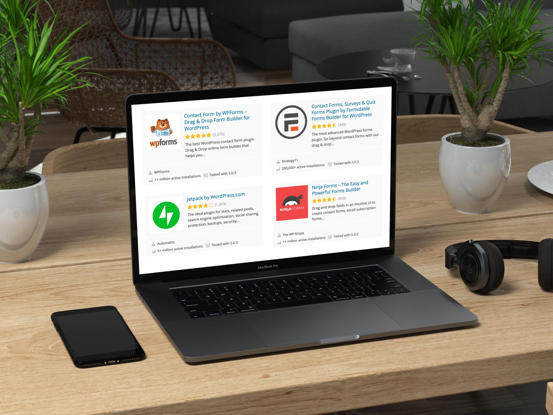 5 Best Freemium Contact Form Plugins for Wordpress