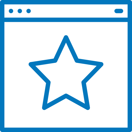 icon-linear-browser-star